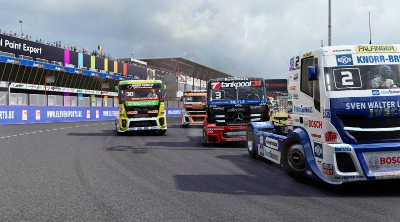FIA European Truck Racing Championship Nintendo Switch