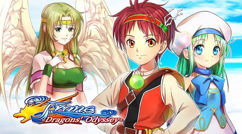 Frane: Dragons' Odyssey PS Vita PS4