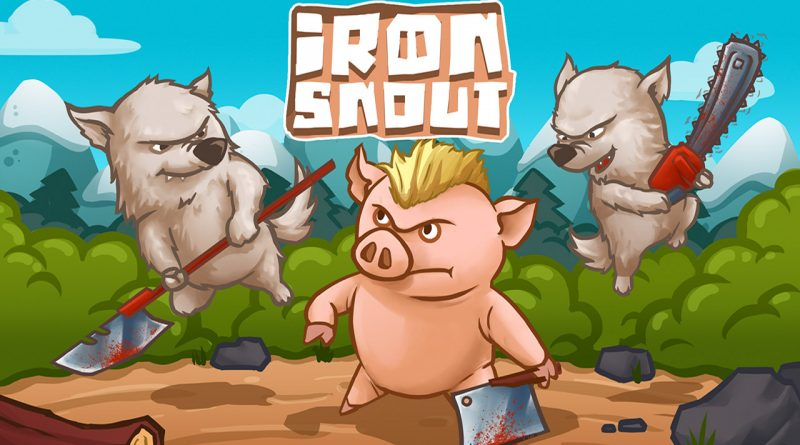 Iron Snout PS Vita PS4 Switch