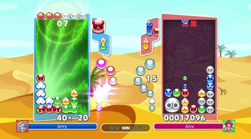 Puyo Puyo Champions Nintendo Switch