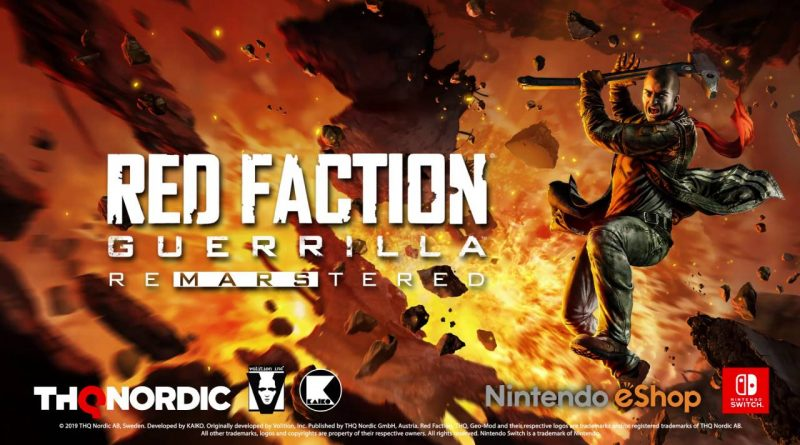 Red Faction: Guerrilla Re-Mars-tered Edition Nintendo Switch