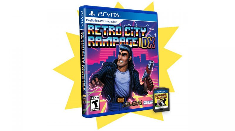 Retro City Rampage DX Getting Final Run of Physical PS Vita Copies, Shakedown: Hawaii News This Week