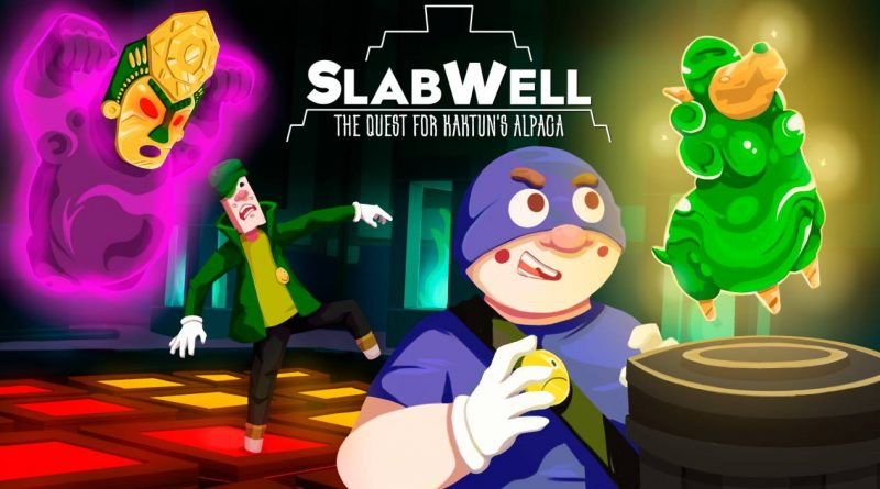 SlabWell: The Quest for Kaktun's Alpaca Nintendo Switch