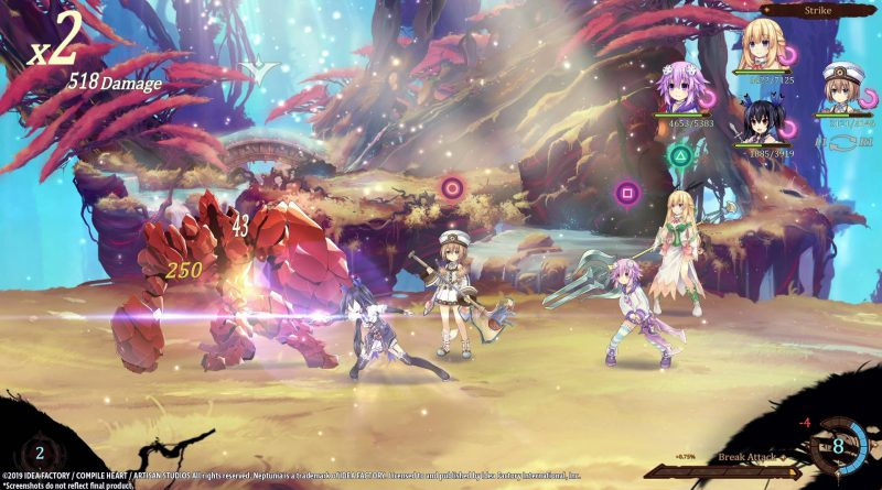 Super Neptunia RPG Nintendo Switch PS4