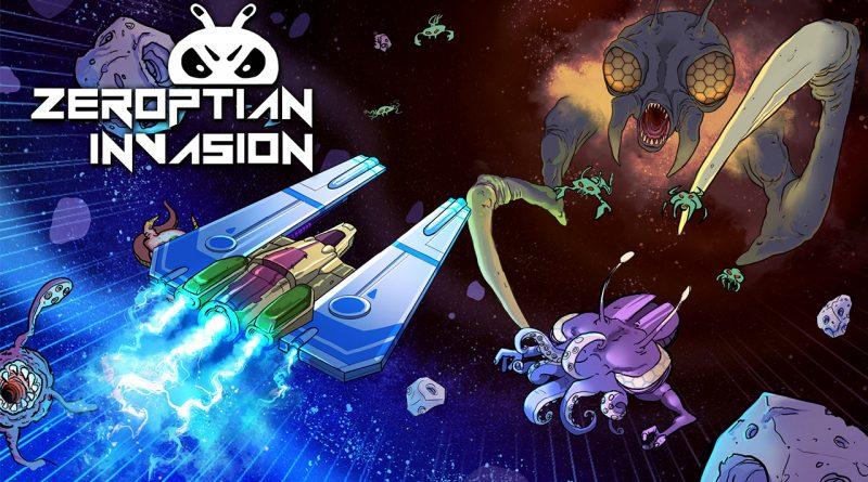 Zeroptian Invasion PS Vita PS4 Switch