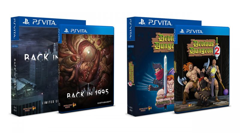 Back in 1995 Devious Dungeon 2 PS Vita