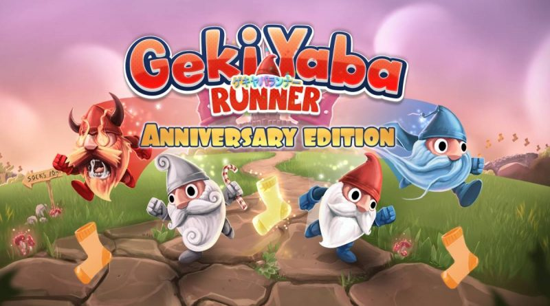 Geki Yaba Runner Anniversary Edition Nintendo Switch