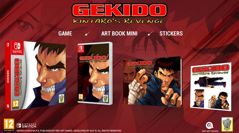 Gekido Kintaro's Revenge Switch PS4