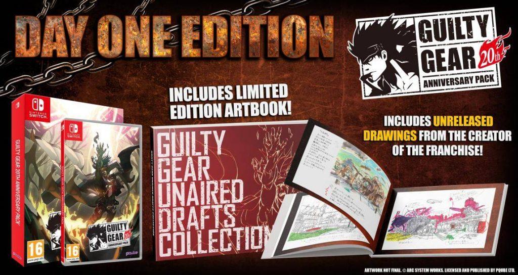Guilty Gear 20th Anniversary Pack Switch