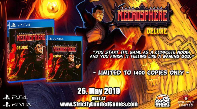 Necrosphere Deluxe PS Vita PS4