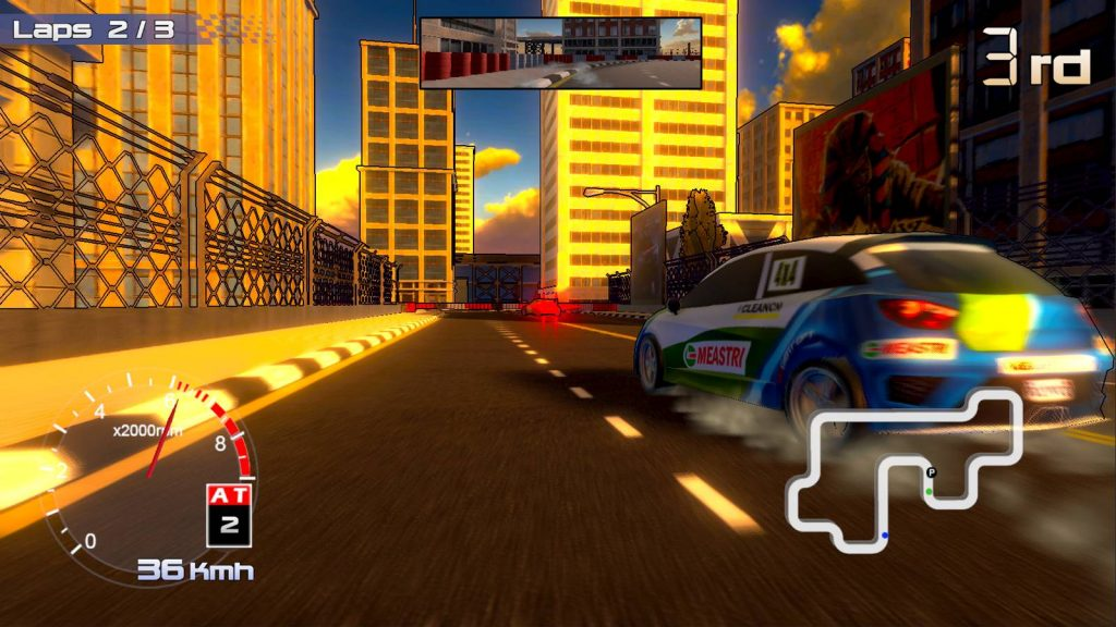 Rally Rock' N Racing Nintendo Switch