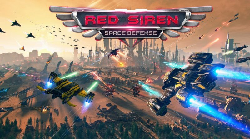 Red Siren: Space Defense Nintendo Switch