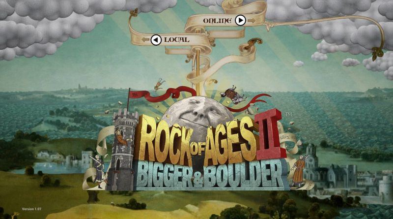 Rock of Ages 2: Bigger & Boulder Nintendo Switch