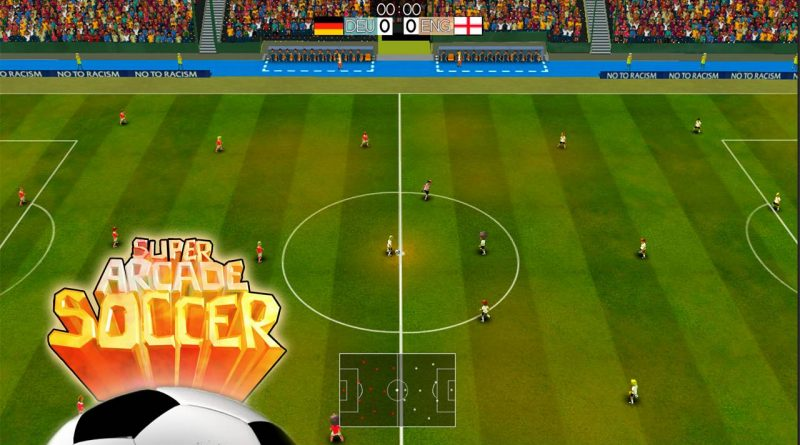 Super Arcade Soccer Nintendo Switch