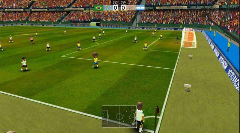 Super Arcade Soccer Nintendo Switch