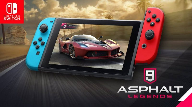 Asphalt 9: Legends Nintendo Switch