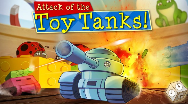 Attack of the Toy Tanks PS Vita PS4 Switch