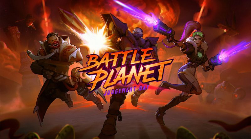 Battle Planet: Judgment Day Switch PS4