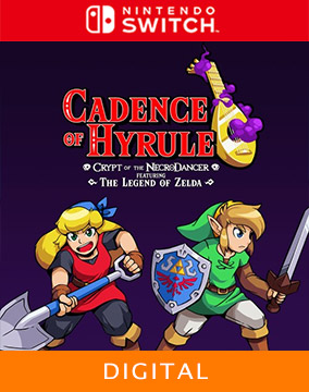 Cadence of Hyrule ~ Cadence of Hyrule: Crypt of the NecroDancer Featuring The Legend of Zelda
