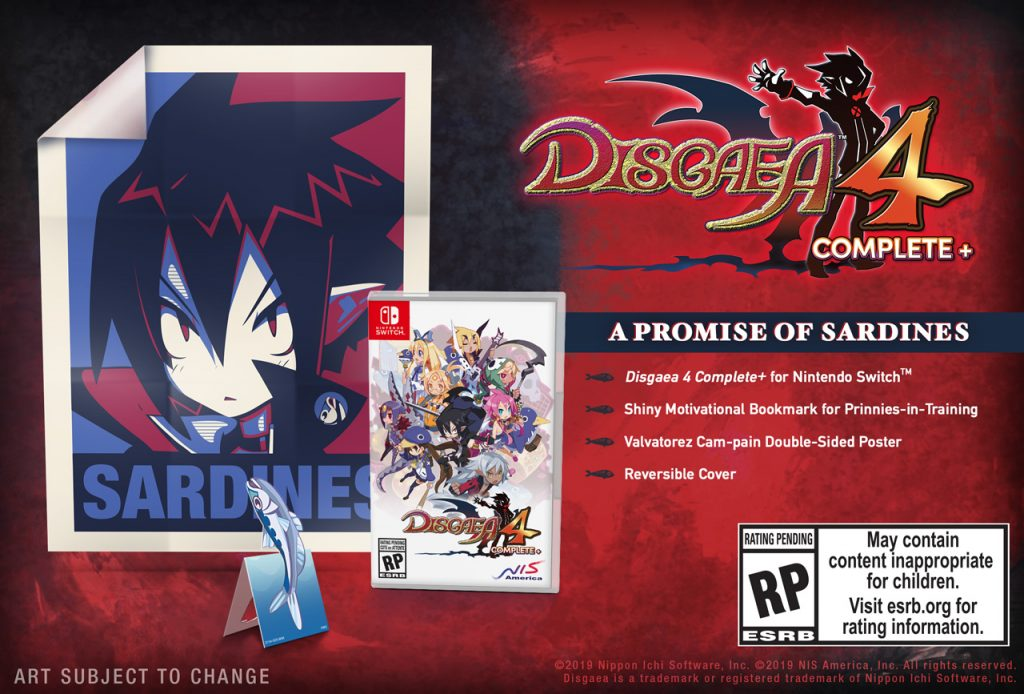 Disgaea 4 Complete+ Nintendo Switch PS4
