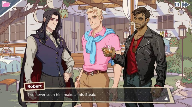 Dream Daddy: A Dad Dating Simulator Nintendo Switch