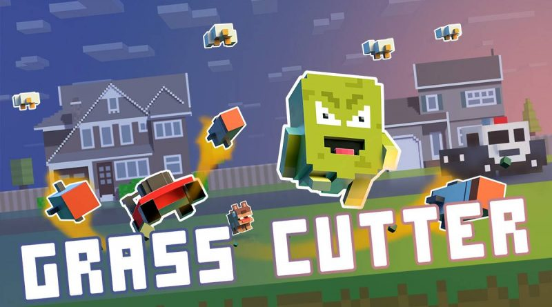 Grass Cutter: Mutated Lawns PS Vita PS4 Switch
