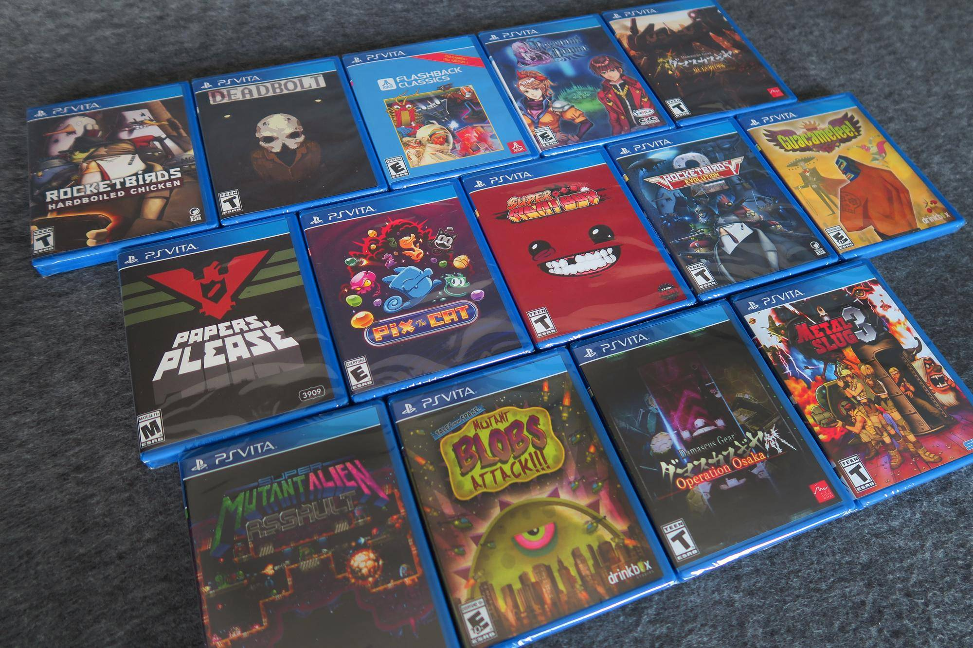 Limited Run Games Reveals Remaining PS Vita Titles