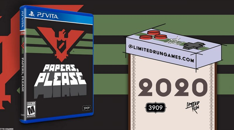 Papers, Please! PS Vita