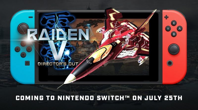 Raiden V: Director's Cut Nintendo Switch