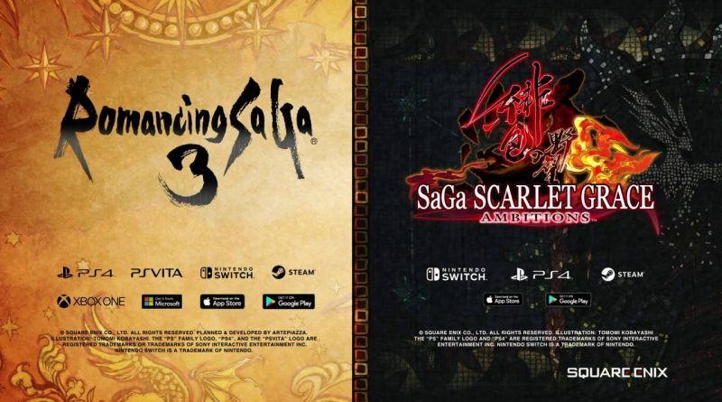 Romancing SaGa 3 SaGa: Scarlet Grace Ambitions PS Vita Switch PS4