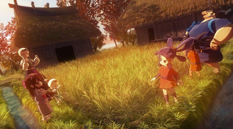 Sakuna: Of Rice and Ruin Nintendo Switch