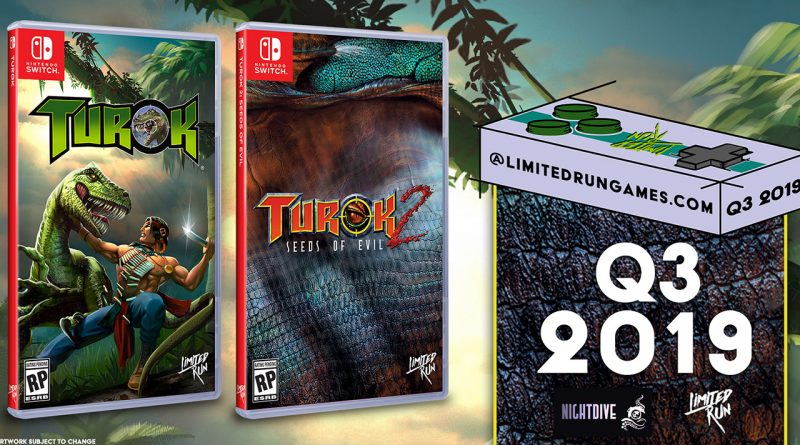 Turok and Turok 2: Seeds of Evil Nintendo Switch