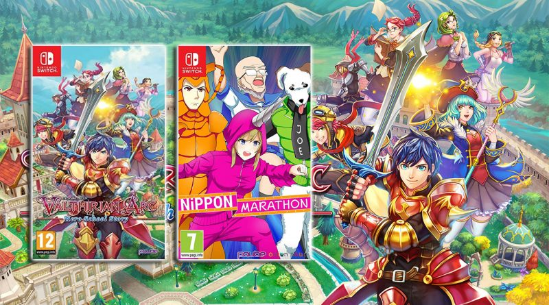 Valthirian Arc: Hero School Story and Nippon Marathon Switch PS4