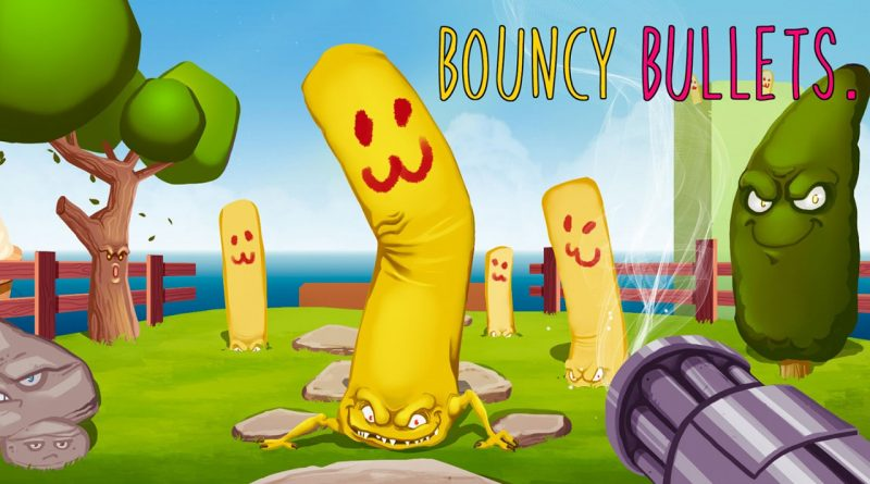 Bouncy Bullets PS Vita PS4 Switch
