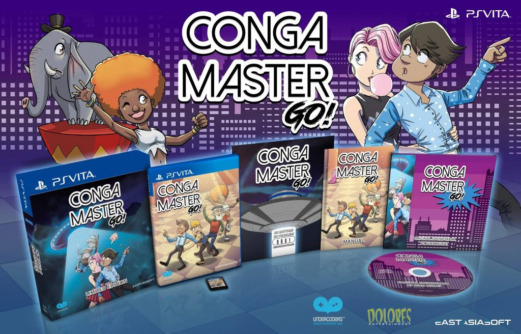 Conga Master Go! Limited Edition PS Vita