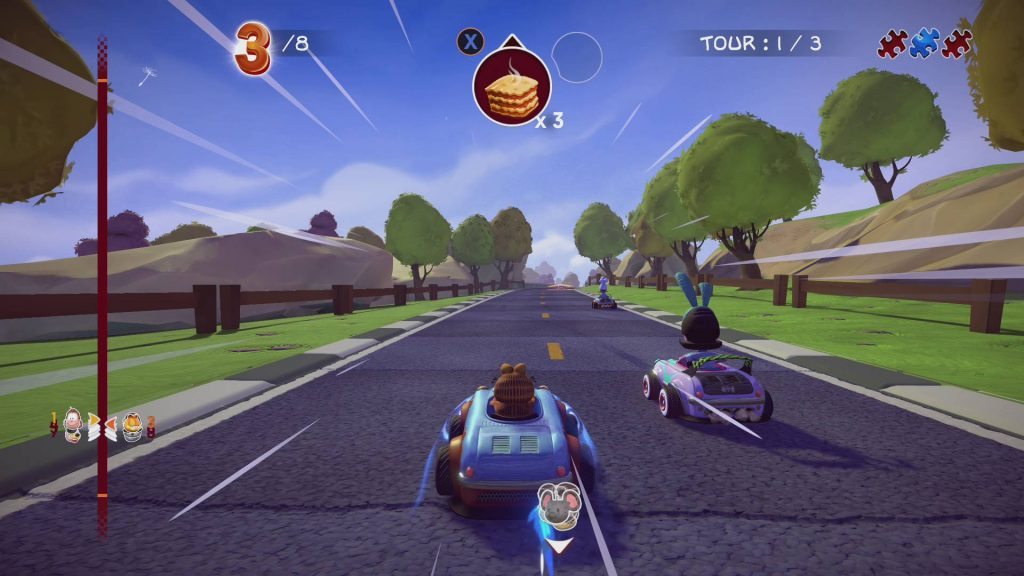 Garfield Kart: Furious Racing Nintendo Switch