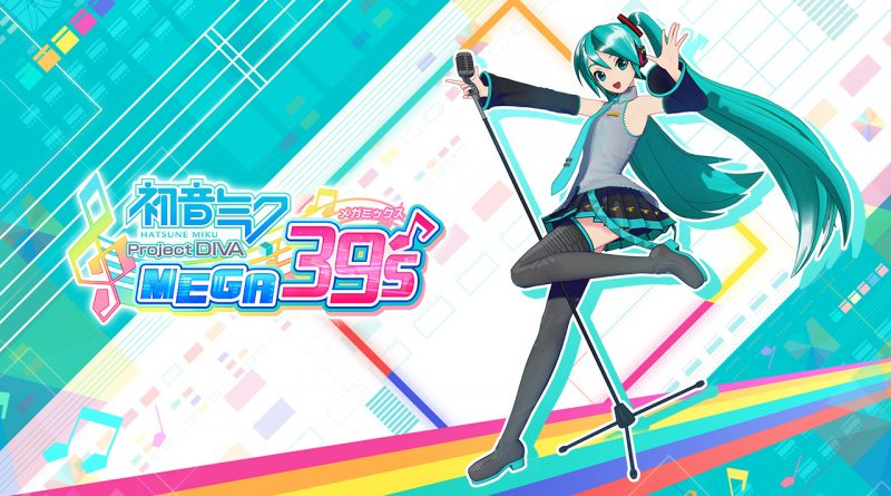Hatsune Miku: Project Diva Mega39's Nintendo switch
