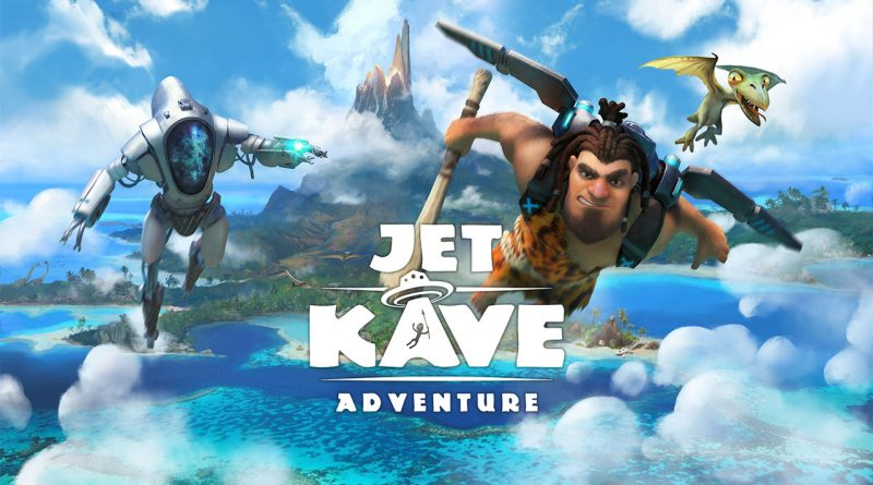 Jet Kave Adventure Nintendo Switch