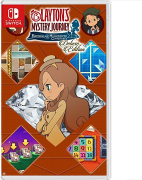 Layton's Mystery Journey: Katrielle and the Millionaires' Conspiracy – Deluxe Edition