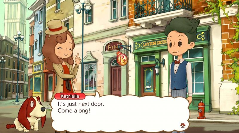 Layton's Mystery Journey: Katrielle and the Millionaires' Conspiracy - Deluxe Edition Nintendo Switch