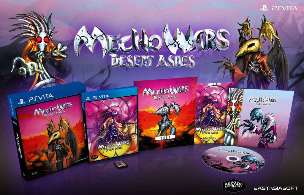 Mecho Wars: Desert Ashes Limited Edition PS Vita