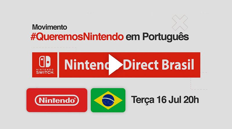 Nintendo Direct Brazil