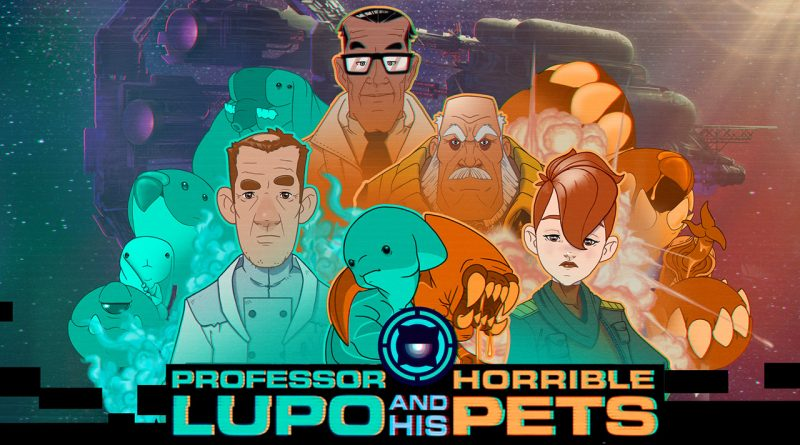 Professor Lupo and his Horrible Pets Nintendo Switch