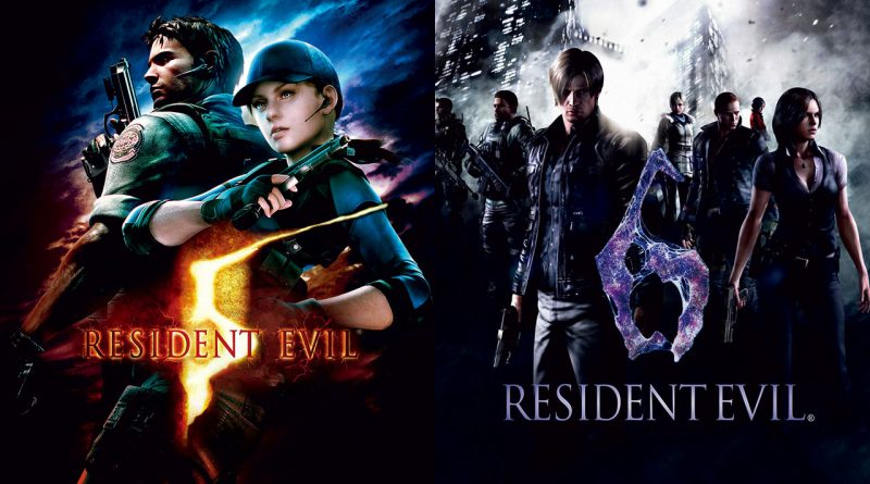 Resident Evil 5 and Resident Evil Nintendo Switch