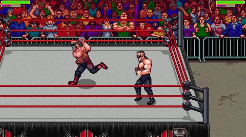 RetroMania Wrestling Nintendo Switch
