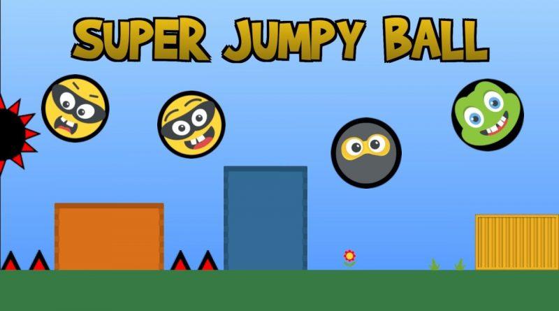 Super Jumpy Ball Nintendo Switch