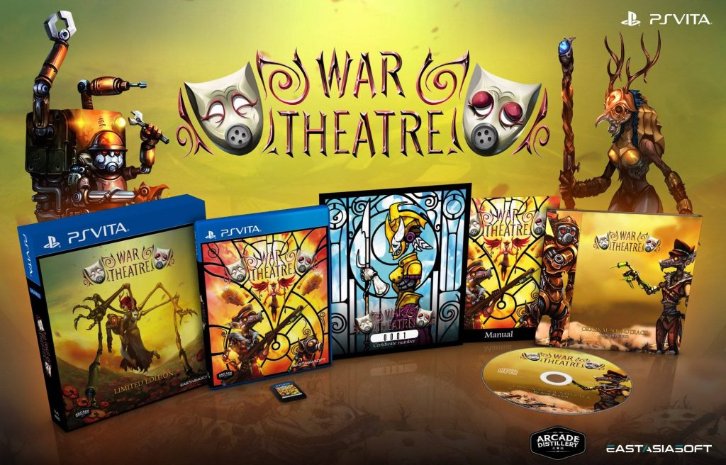 War Theatre Limited Edition PS Vita