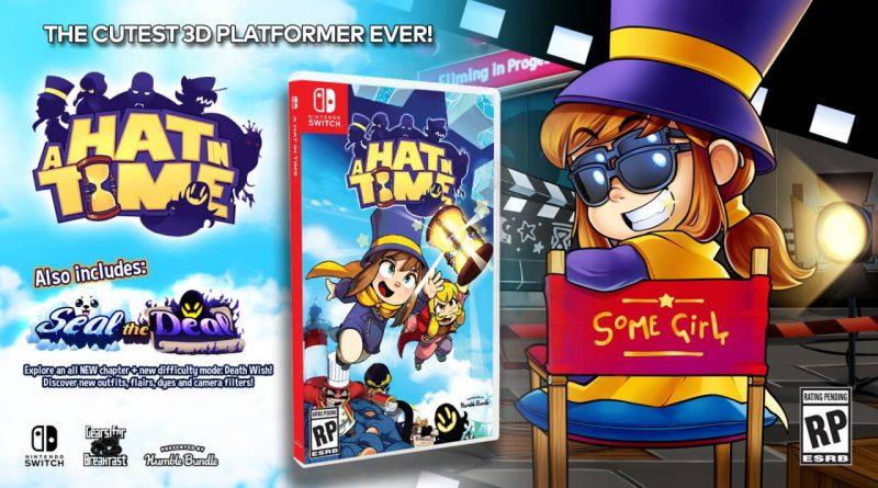 A Hat in Time Launches For Nintendo Switch On October 18