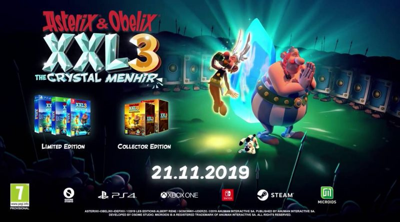 Asterix & Obelix XXL3: The Crystal Menhir Nintendo Switch