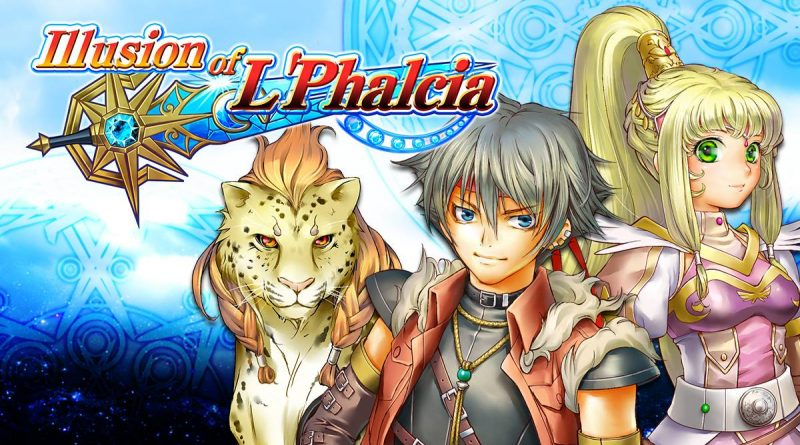 Illusion of L'Phalcia PS Vita PS4